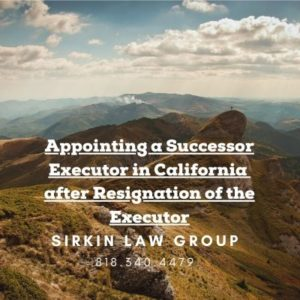 Appointing a Successor Executor